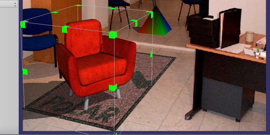Visualize and interact with 3D objects